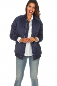 Zoe Karssen |  Bomber jacket Sem | blue  | Picture 4