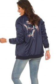 Zoe Karssen |  Bomber jacket Sem | blue  | Picture 6