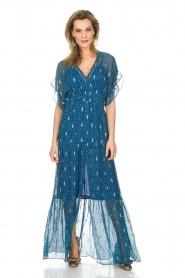 ba&sh |  Maxi dress Mela | blue  | Picture 3
