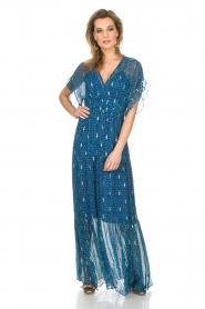 ba&sh |  Maxi dress Mela | blue  | Picture 2