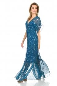 ba&sh |  Maxi dress Mela | blue  | Picture 5