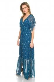 ba&sh |  Maxi dress Mela | blue  | Picture 4