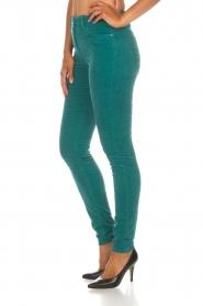 ELISABETTA FRANCHI |  Velvet pants Veronica | blue  | Picture 4
