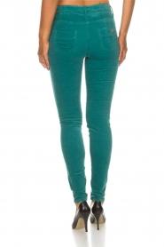 ELISABETTA FRANCHI |  Velvet pants Veronica | blue  | Picture 5