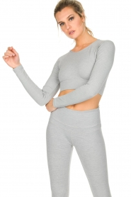 Varley |  Crop sports top Arizona | light grey  | Picture 2