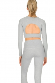 Varley |  Crop sports top Arizona | light grey  | Picture 6
