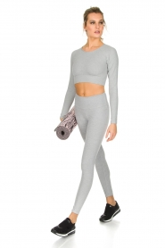 Varley |  Crop sports top Arizona | light grey  | Picture 3