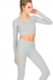 Varley |  Crop sports top Arizona | light grey  | Picture 5