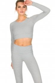 Varley |  Crop sports top Arizona | light grey  | Picture 4