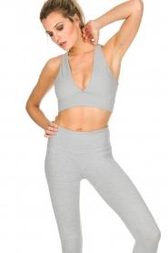 Varley |  Sports bra Brooks Crop | grey  | Picture 2