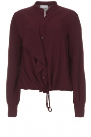 AnnaRita N |  Blouse Lynn | bordeaux  | Picture 1