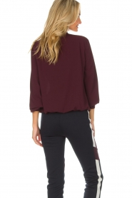 AnnaRita N |  Blouse Lynn | bordeaux  | Picture 5