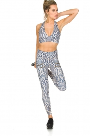 Varley | Sportlegging Palms Tight | dierenprint  | Afbeelding 3