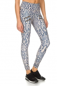 Varley | Sportlegging Palms Tight | dierenprint  | Afbeelding 4