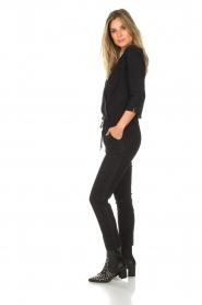 D-ETOILES CASIOPE | Jumpsuit Parisienne | zwart  | Afbeelding 5