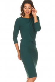 D-ETOILES CASIOPE |  Dress with stretch Prince | green  | Picture 2