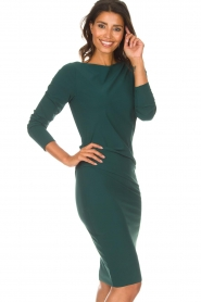 D-ETOILES CASIOPE |  Dress with stretch Prince | green  | Picture 5
