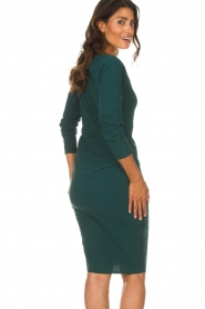 D-ETOILES CASIOPE |  Dress with stretch Prince | green  | Picture 6