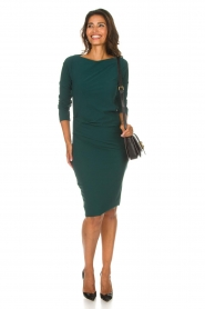 D-ETOILES CASIOPE |  Dress with stretch Prince | green  | Picture 3