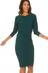 D-ETOILES CASIOPE |  Dress with stretch Prince | green  | Picture 4