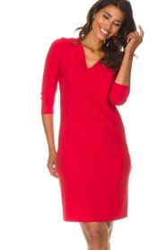D-ETOILES CASIOPE |  Dress Morgan | red  | Picture 2