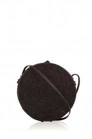 Little Soho | Rotan tas Bali groot | zwart  | Afbeelding 1