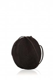 Little Soho | Rotan tas Bali groot | zwart  | Afbeelding 3
