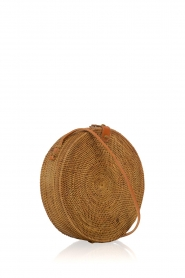 Little Soho |  Rattan bag Bali large | brown  | Picture 3