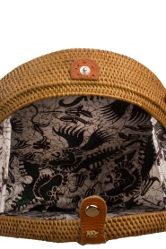 Little Soho |  Rattan bag Bali large | brown  | Picture 4
