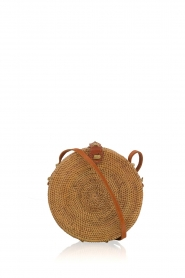Little Soho | Rotan tas Bali klein | bruin  | Afbeelding 1