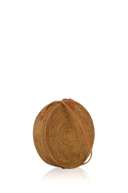 Little Soho |  Rattan bag Bali small | brown  | Picture 3