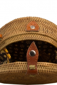 Little Soho |  Rattan bag Bali small | brown  | Picture 4