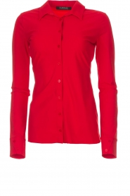 D-ETOILES CASIOPE |  Blouse Petite | red  | Picture 1