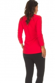 D-ETOILES CASIOPE |  Blouse Petite | red  | Picture 5
