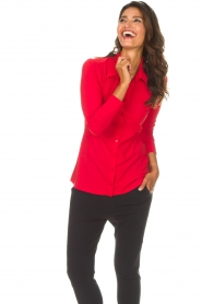 D-ETOILES CASIOPE |  Blouse Petite | red  | Picture 3