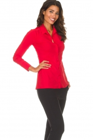 D-ETOILES CASIOPE |  Blouse Petite | red  | Picture 4