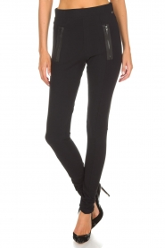 D-ETOILES CASIOPE |  Pants Madelon | black  | Picture 3