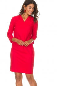 D-ETOILES CASIOPE |  Dress Poirette | red  | Picture 2