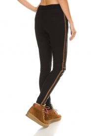 Aaiko |  Faux leather pants Sosa | gold  | Picture 6