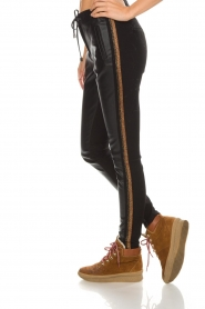 Aaiko |  Faux leather pants Sosa | gold  | Picture 5