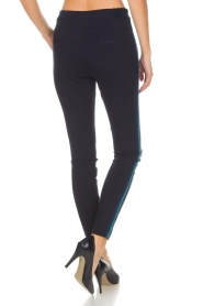 Aaiko |  Faux leather pants Sosa | blue  | Picture 5