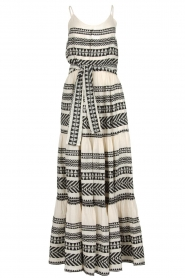 Devotion |  Maxi dress Neyla | black & white  | Picture 1