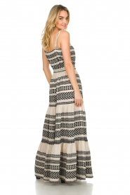 Devotion |  Maxi dress Neyla | black & white  | Picture 5
