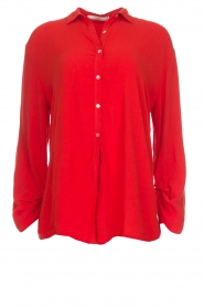 Aaiko |  Blouse Rayo | red  | Picture 1
