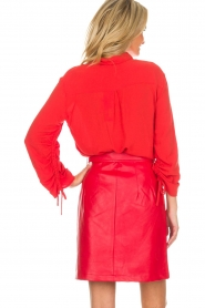 Aaiko |  Blouse Rayo | red  | Picture 6