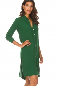 Aaiko |  Tunic dress Coa | green  | Picture 5