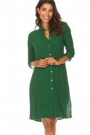 Aaiko |  Tunic dress Coa | green  | Picture 2