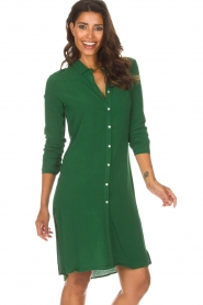 Aaiko |  Tunic dress Coa | green  | Picture 4