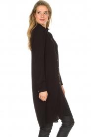 Aaiko |  Tunic dress Coa | black  | Picture 5