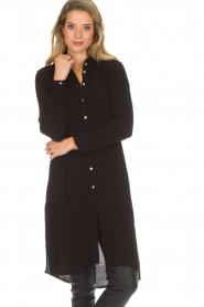 Aaiko |  Tunic dress Coa | black  | Picture 4